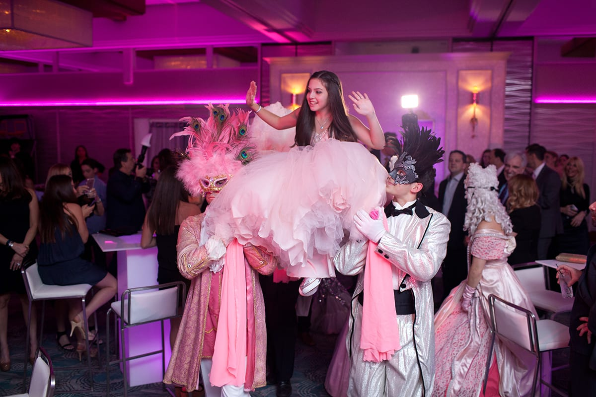 mitzvah trends at the Crescent Beach Club