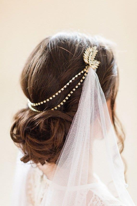 Hair chains for weddings