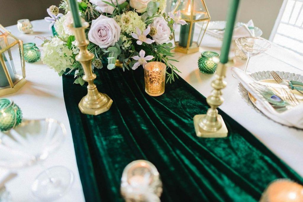velvet is a fall wedding trend