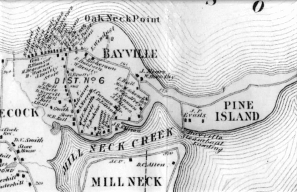 Bayville map
