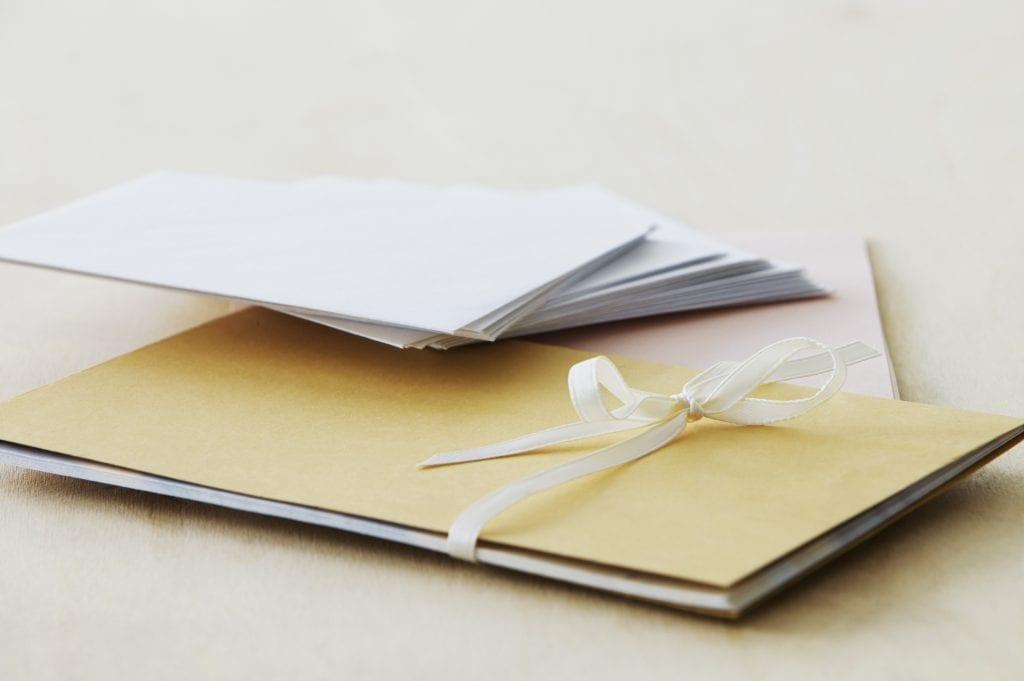 extra wedding invitations
