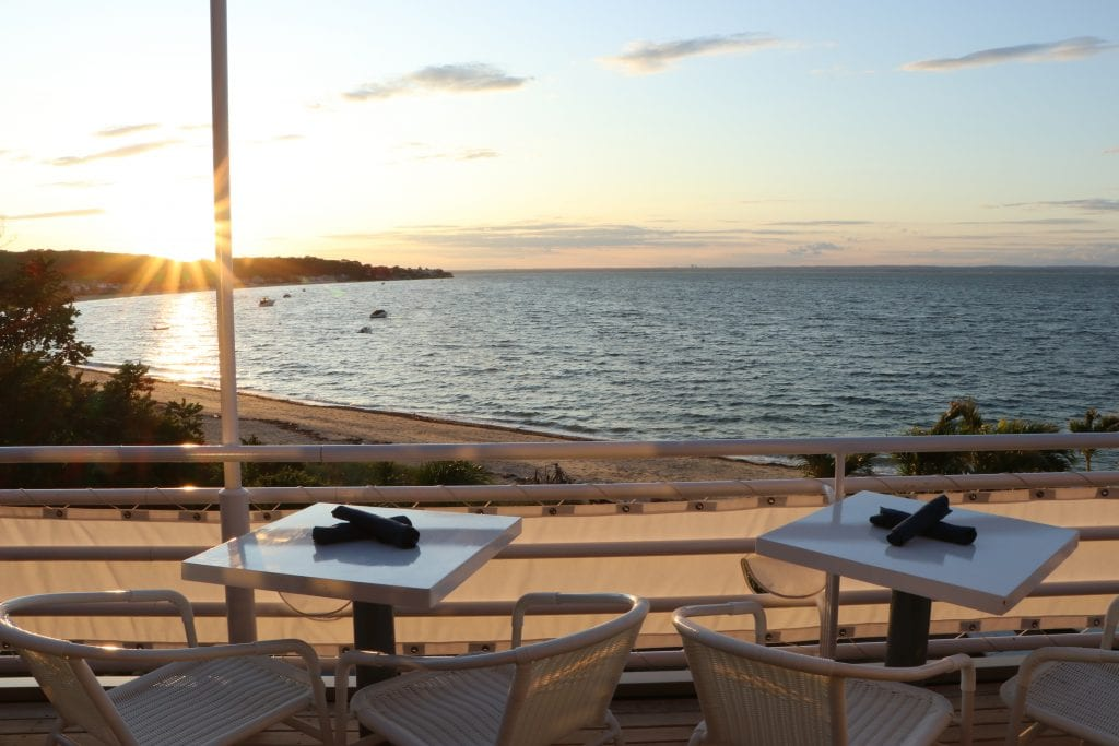 Ocean Restaurant beach dinner